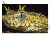 Usambara Eyelash Bush Viper Carry-all Pouch