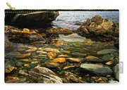 Atlantic Coast In Newfoundland Carry-all Pouch by Elena Elisseeva