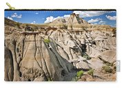 Badlands In Alberta Carry-all Pouch by Elena Elisseeva