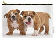 Bulldog Puppies Carry-all Pouch