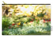 Flower Garden In Sunshine Carry-all Pouch by Elena Elisseeva