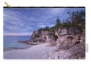 Georgian Bay Cliffs At Sunset Carry-all Pouch