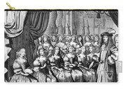 Louis Xiv (1638-1715) Carry-all Pouch