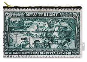old New Zealand postage stamp Carry-all Pouch