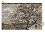 Rustic Hillside Barn Carry-all Pouch