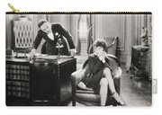 Silent Film Still: Offices Carry-all Pouch