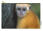 Silvered Leaf Monkey Trachypithecus Carry-all Pouch