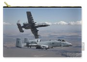 Two A-10 Thunderbolts Fly Carry-all Pouch