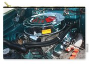 65 Plymouth Satellite Engine-8482 Carry-all Pouch