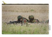Belgian Paratroopers On Guard Carry-all Pouch