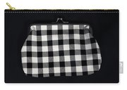 Black And White Carry-all Pouch