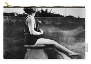 Clara Bow (1905-1965) Carry-all Pouch by Granger