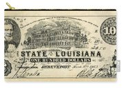 Confederate Banknote Carry-all Pouch