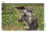 Fall  Halloween On Tillson Street Carry-all Pouch