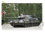 The Leopard 1a5 Of The Belgian Army Carry-all Pouch