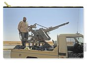 A Free Libyan Army Pickup Truck Carry-all Pouch by Andrew Chittock