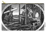 Poor Richard Illustrated Carry-all Pouch