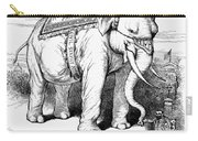 Presidential Campaign, 1884 Carry-all Pouch