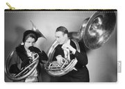 Silent Film Still: Music Carry-all Pouch by Granger