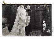 Silent Film Still: Wedding Carry-all Pouch