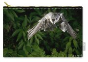 Tufted Titmouse In Flight Carry-all Pouch