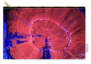 Fluorescent Coral In Uv Light Carry-all Pouch