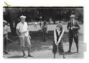 Silent Film Still: Golf Carry-all Pouch