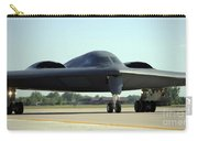 A B-2 Spirit Taxis Onto The Flightline Carry-all Pouch