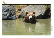 A Bear's Hot Tub Carry-all Pouch