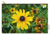 A Beautiful Close Up Of A Sunflower Carry-all Pouch