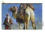 A Bedoueen Family In Wady Mousa Syrian Desert Carry-all Pouch