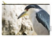 A Black-crowned Night Heron  Carry-all Pouch