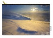 A Blizzard On Toviktinden Mountain Carry-all Pouch