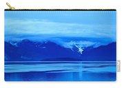 A Blue Slice Of Alaska Coast Carry-all Pouch