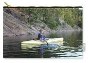 A Boy Kayaking Carry-all Pouch