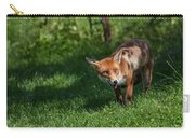 A British Red Fox Carry-all Pouch