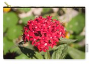 A Bunch Of Small Red Flowers Carry-all Pouch