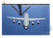 A C-17 Globemaster IIi Approaches Carry-all Pouch by Stocktrek Images