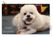 A Candycane For Puppy Carry-all Pouch