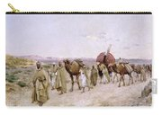 A Caravan Near Biskra Carry-all Pouch by PJB Lazerges