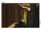 A Carol Carry-all Pouch by Laura Theresa Alma-Tadema