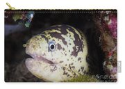 A Chain Moray Eel Peers Out Of Its Hole Carry-all Pouch