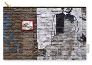 A Character On The Wall Carry-all Pouch by RicardMN Photography