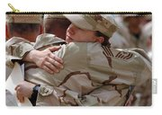 A Chief Master Sergeant Consoles Carry-all Pouch