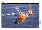A Coast Guard Hh-65a Dolphin Rescue Carry-all Pouch by Stocktrek Images