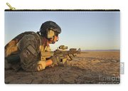 A Combat Rescue Officer Provides Carry-all Pouch by Stocktrek Images