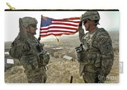 A Commander Re-enlists Master Sergeant Carry-all Pouch