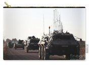 A Convoy Of German Army Tpz Fuchs Carry-all Pouch