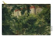 A Corner Of The Garden In Rueil Carry-all Pouch