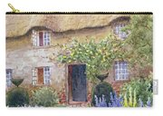 A Cottage Garden In Full Bloom Carry-all Pouch